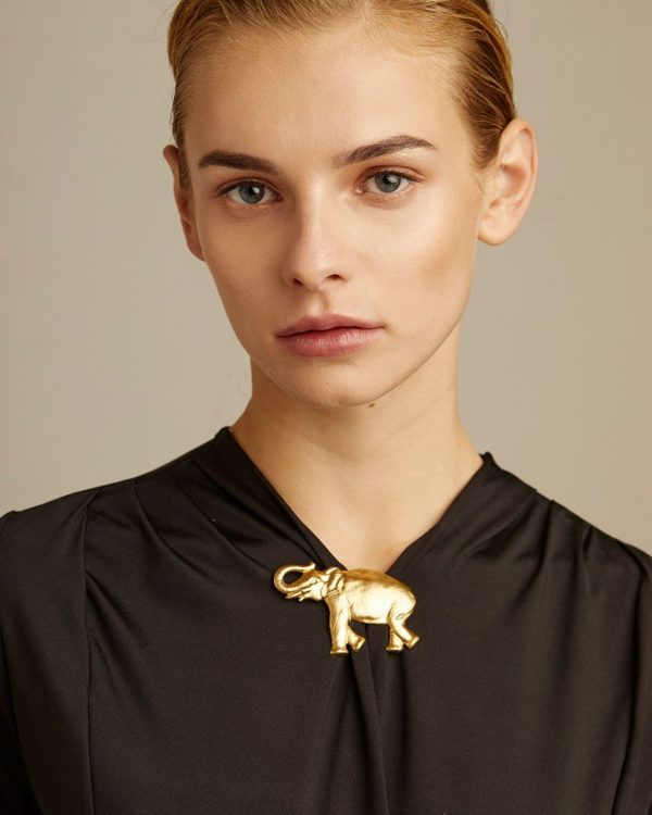 Broche elefante