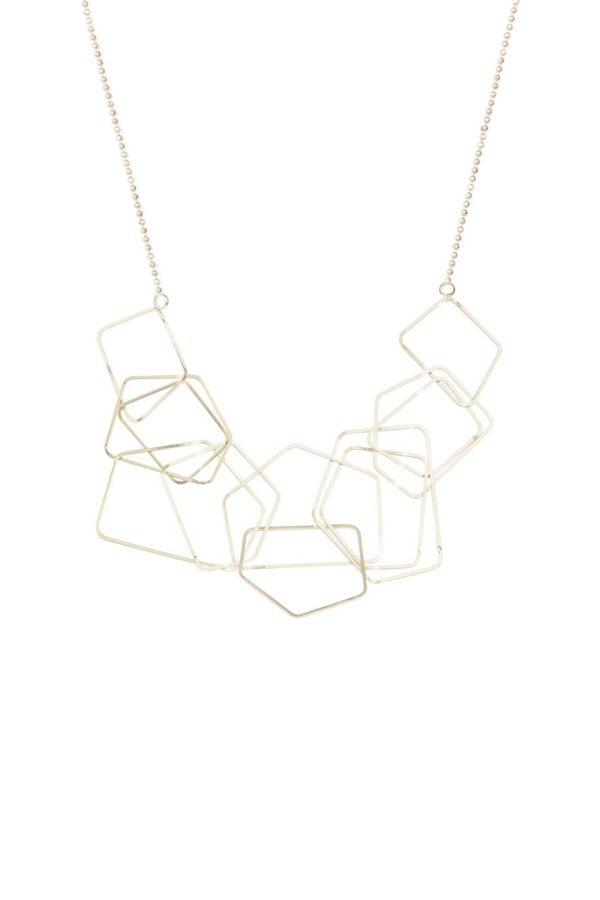 Collar Capsule la geometría toma las riendas de los complementos esta temporada. Una apuesta clara por el minimalismo más elegante.