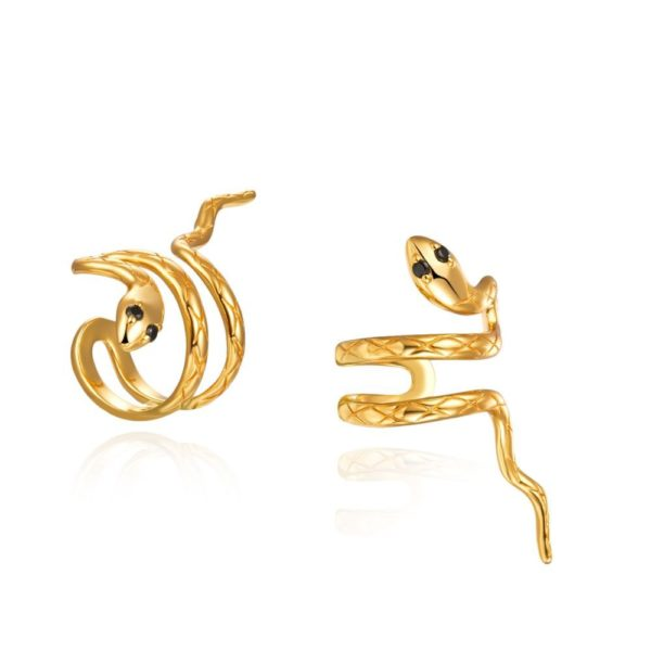 Trepille Ear Cuff Serpiente