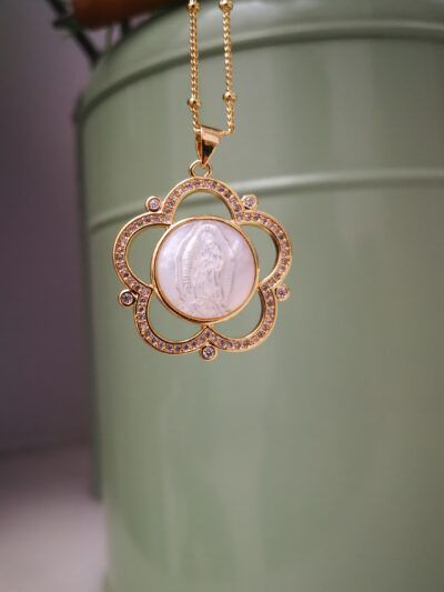 Medalla Virgen Flor