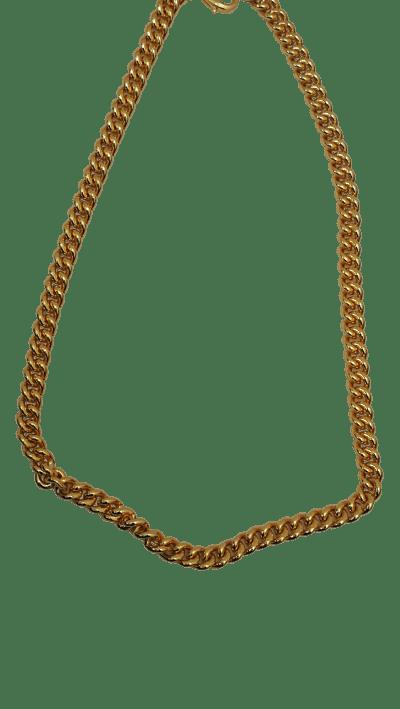 collar mini dorado artesanal